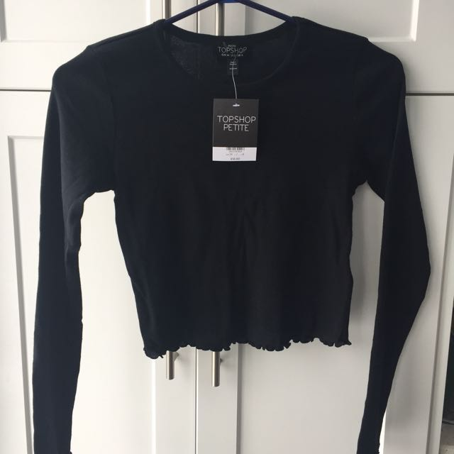 REDUCED New Topshop Cropped Top