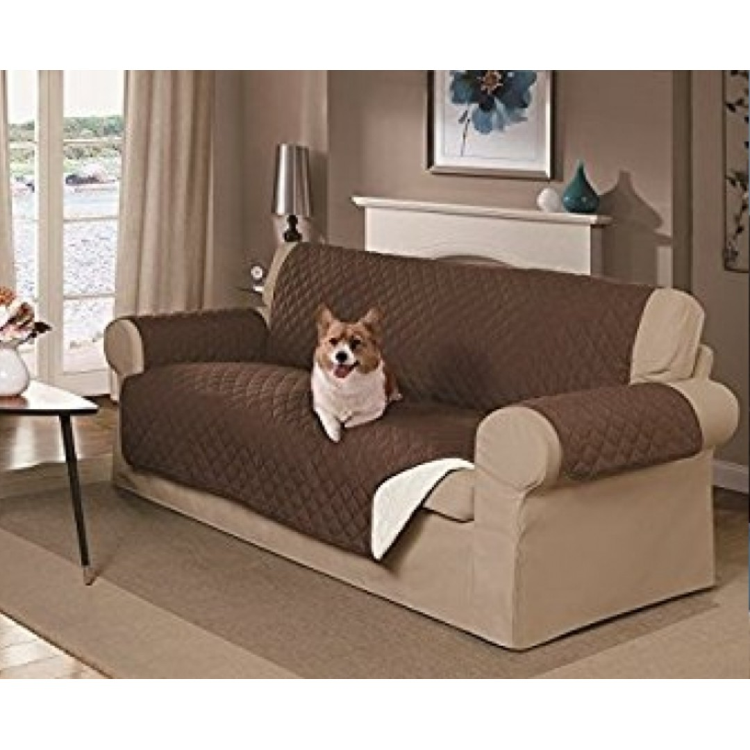 Reversible Water Resistant Sofa Cover