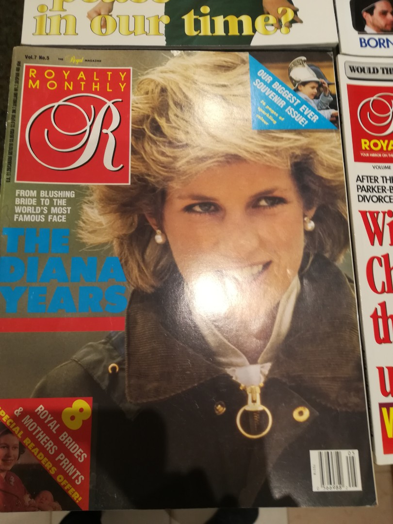 Royalty monthly featuring princess Diana