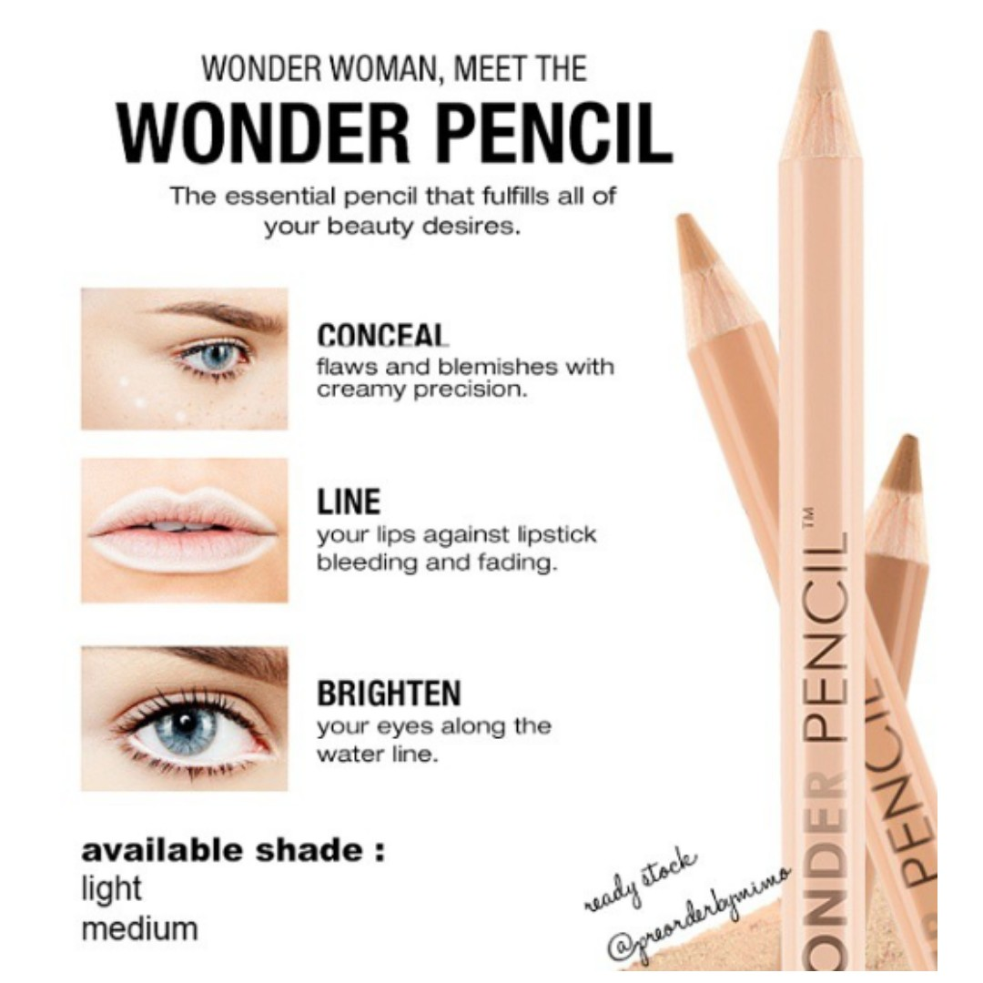 d5a21100013 <RS> NYX WONDER PENCIL, Health & Beauty, Makeup on Carousell