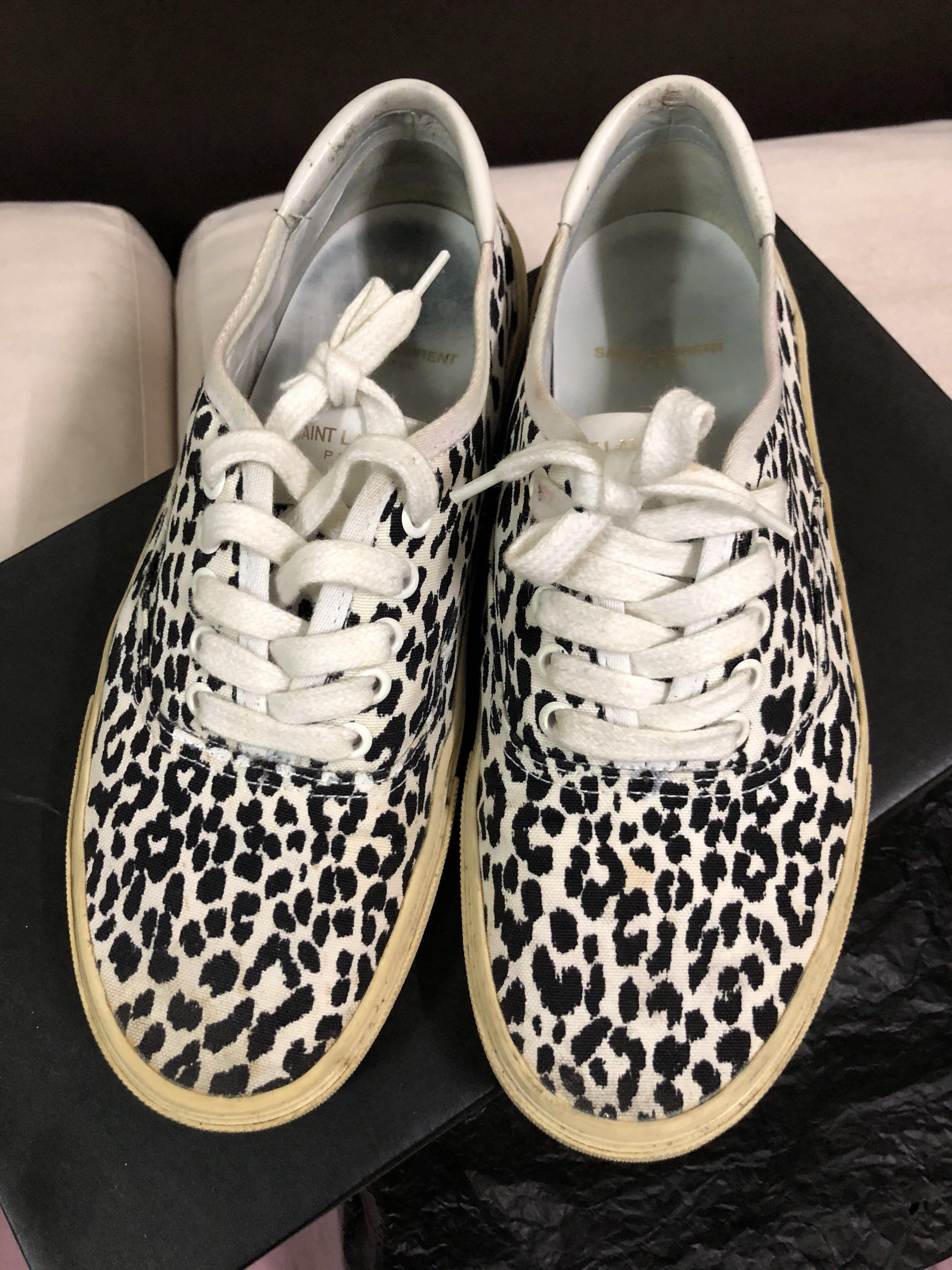 65b0aa4762f Saint Laurent SLP babycat baby cat sneakers size 42 skate shoe, Men's  Fashion, Footwear, Sneakers on Carousell