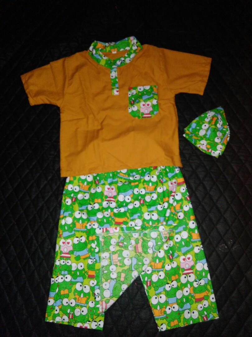 Sarkoci Sarungkokopeci Bayi Anak Baju Laki Di Baby Usia 1 Tahun Carousell