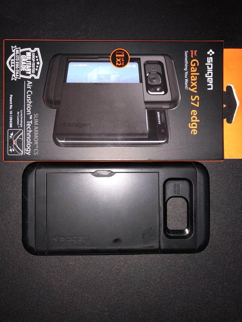 buy popular 95d98 e01fa SPIGEN Slim Armor CS Black (Samsung Galaxy S7 Edge)