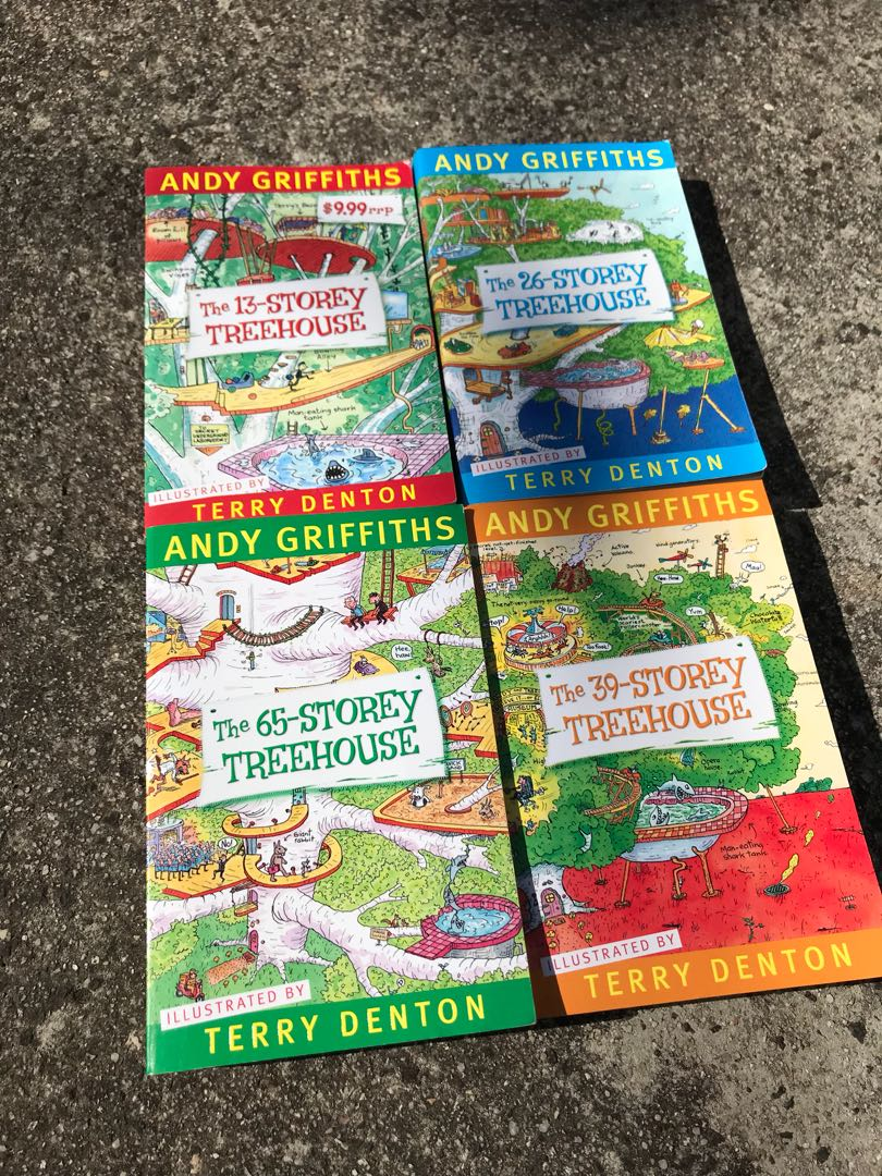 Story treehouse books all for $10