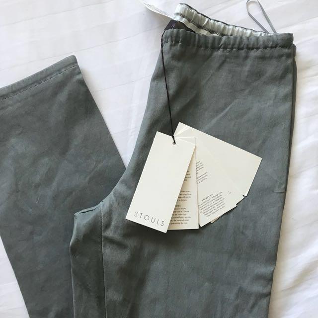 STOULS Designer Leather leggings
