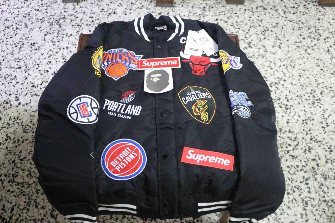 006981fa9a3e Supreme x Nike x NBA Jacket   Jersey