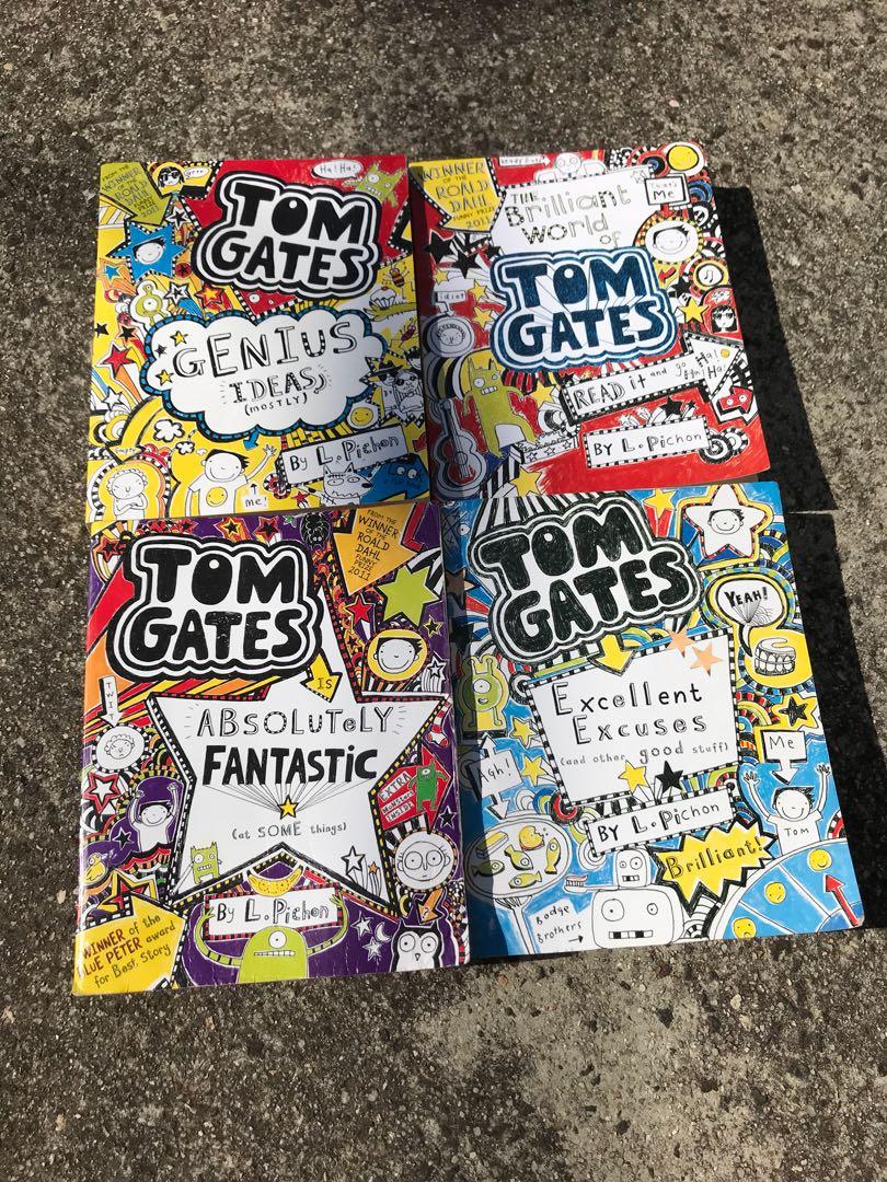 Tom gates books all for $10