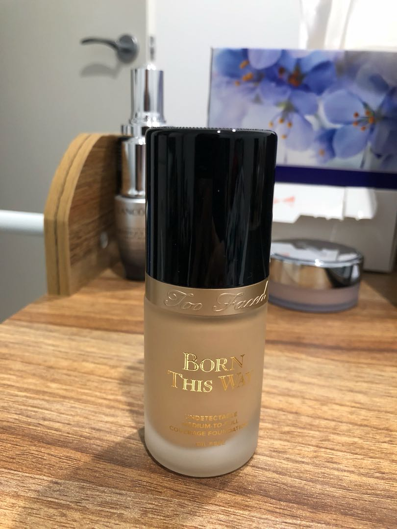 Too Faced Born this way Foundation barely used