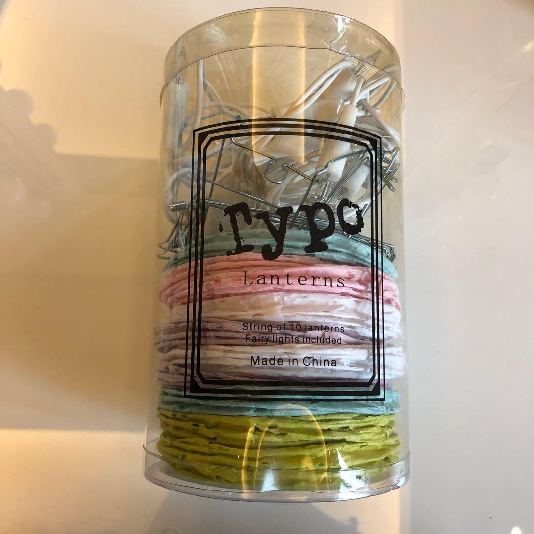 Typo (Cotton On) Fairy Lantern Lights