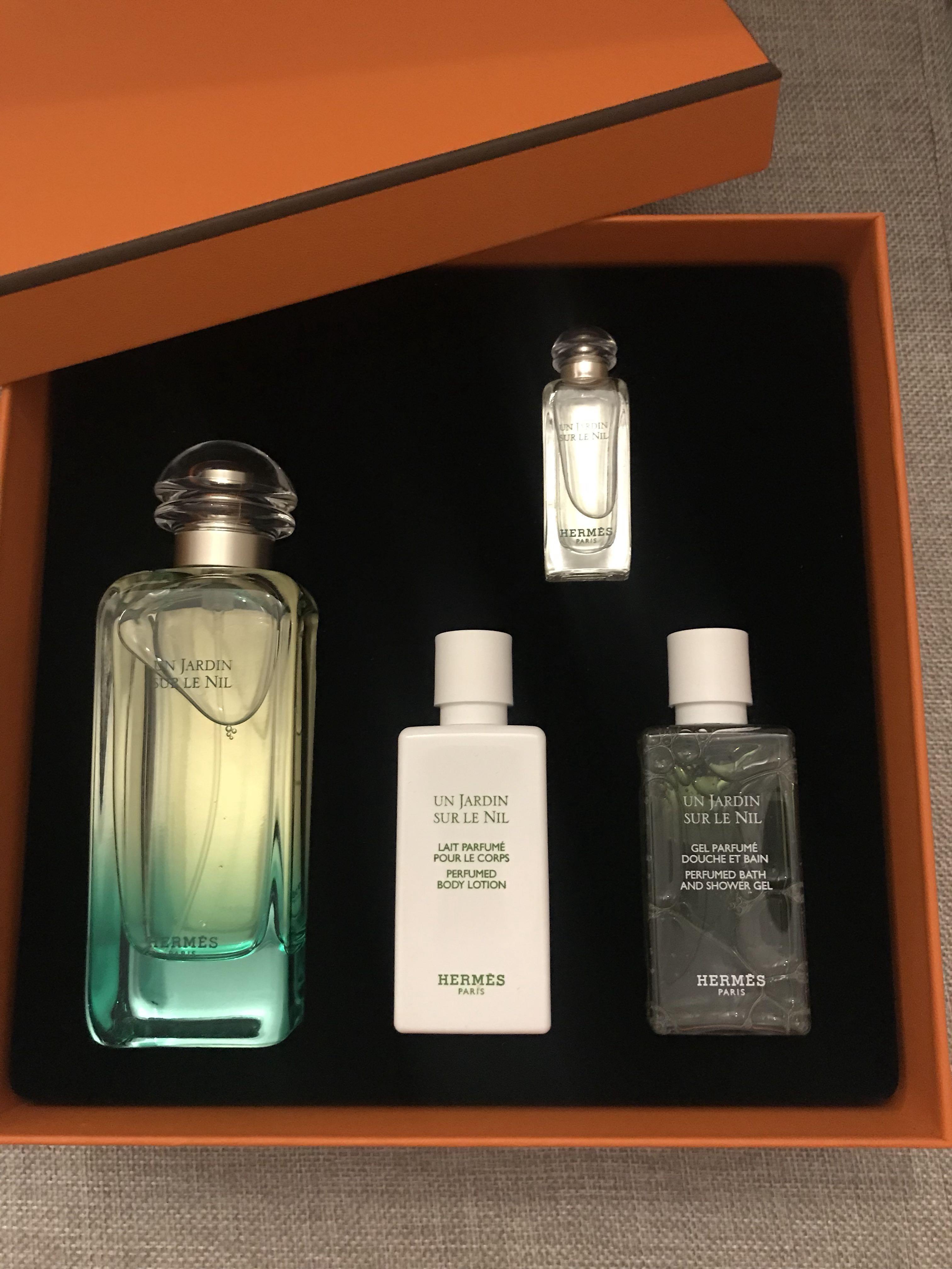 Un Jardin Sur Le Nil Hermès Perfume Gift Set Health Beauty Hand