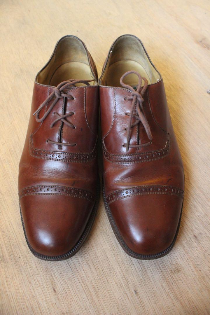 Vintage Cole Haan Cap Toe Leather Shoes