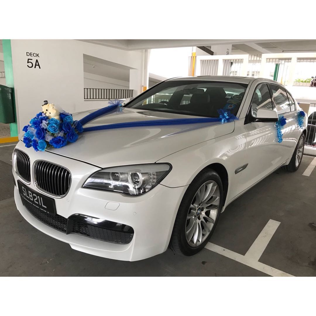 Wedding Car Decor Design Craft Others On Carousell