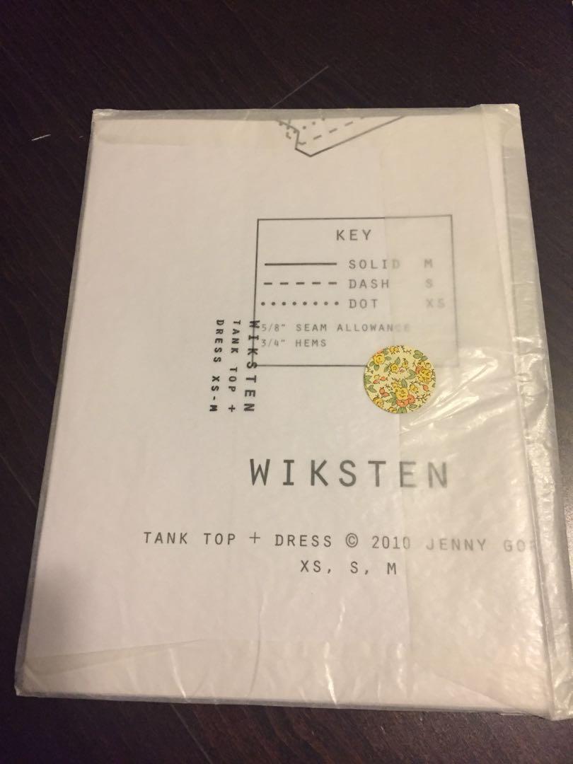 Wiksten tank top sewing pattern