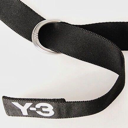 Y3 布帶 腰帶 Y-3 男女也可用