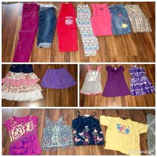 10/12 all girls summer and spring Lot