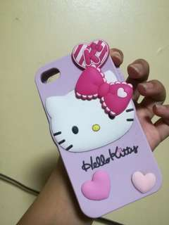 iphone 4s jelly case hello kitty