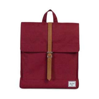 [PREORDER] HERSCHEL SUPPLY CITY BACKPACK (WINDSOR WINE)