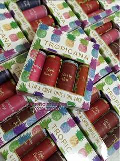 TROPICANA LIP AND CHEEK TINT MINIS