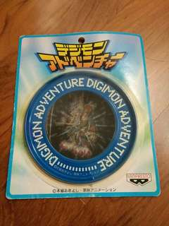 NEW AND NEVER USED! Vintage 1999 Digimon Adventure Clip Badge