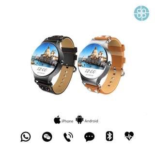 King wear kw98 繁體智能手錶 smart watch 上班一族 文青款