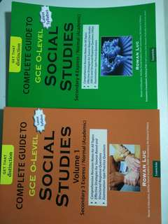 GCE O LEVEL SOCIAL STUDIES REVISION NOTES