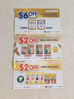 Nan 2 voucher cerelac gerber free postage
