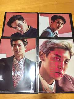 🚚 EXO 日本官方資料夾
