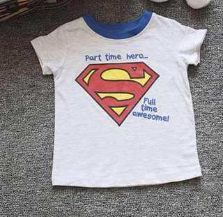 boy T-shirt Superman Tee 12-18m