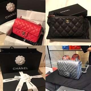 Chanel 手袋銀包❤️❤️❤️
