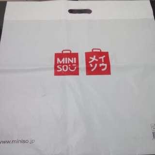 MINI SOO Large Plastic bag preloved like new original