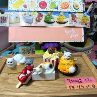 🚚 ✨BANDAI 貓咪咖啡屋 9 點心貓9 小全✨