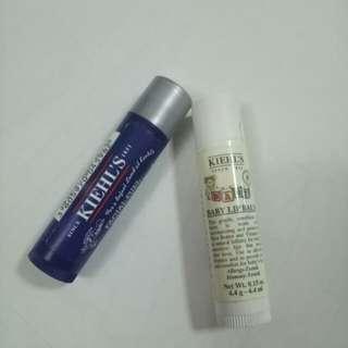 BN Kiehl Facial Fuel No Shine Moisturizing Lip Balm or Kiehl Baby Lip Balm