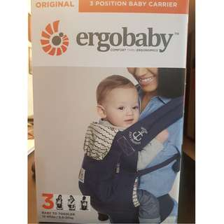 Brand New Ergobaby Original Carrier - with tag and warranty intact