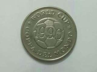 World Cup 1990 Souvenir Token