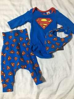 H&M Superman Set 0-1M