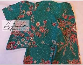Batik top and palazzo pants