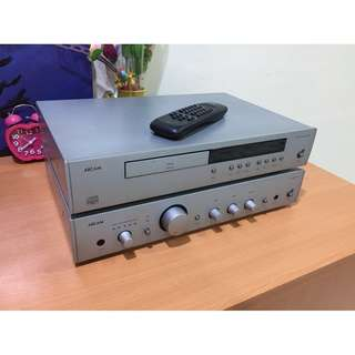 Arcam Amplifier and CD Player