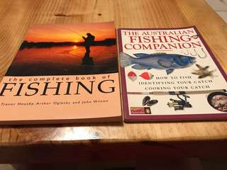 Complete book of fishing and Australian Fishing Companion