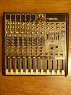 MACKIE PROFX12 12-CHANNEL USB MIXER WITH EFFECTS & PRODIP TDC 6 ACTIVE STUDIO SPEAKERS