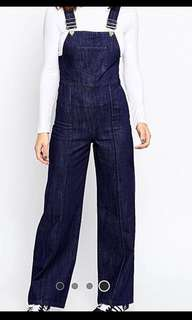 ASOS -Denim flared overalls