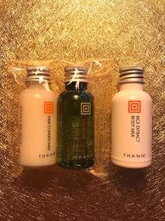 Thann Shampoo conditioner lotion 洗頭水 護髮素 潤膚乳液