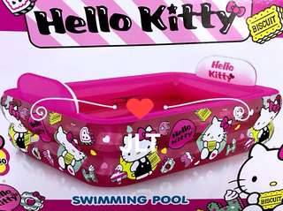 Hello Kitty Inflatable Pool