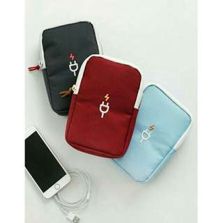 Travel Charger/Powerbank/Mobile/Gadget Pouch Organizer