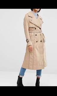 ASOS - Camel Trench Coat