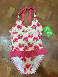 Strawberry Swimwear for little girls