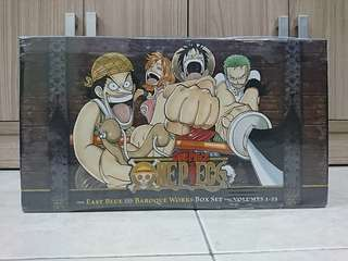 Manga One Piece Box Set 1 (1-23 Volume)