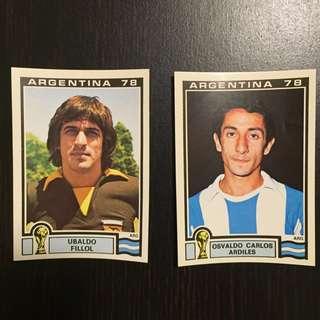 PANINI世界盃⚽️集圖冊貼紙