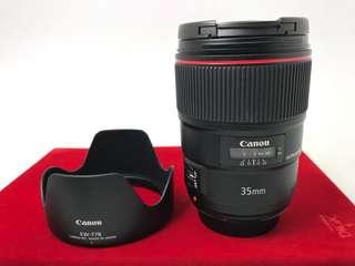 Canon 35mm F1.4L II