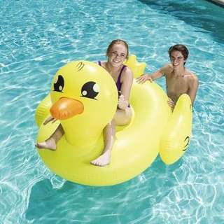 Inflatable Yellow Duckling Floater
