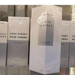 Issey Miyake L'eau D'issey and Pour Homme Perfume
